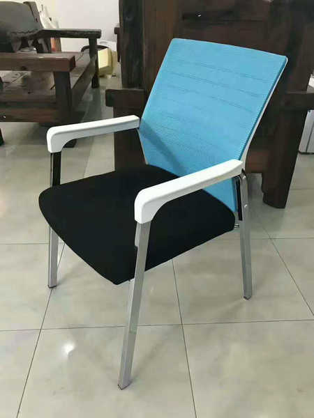 China Wholesale Mesh Conference Visitor Chair Boardroom Office Seating Without Casters Office