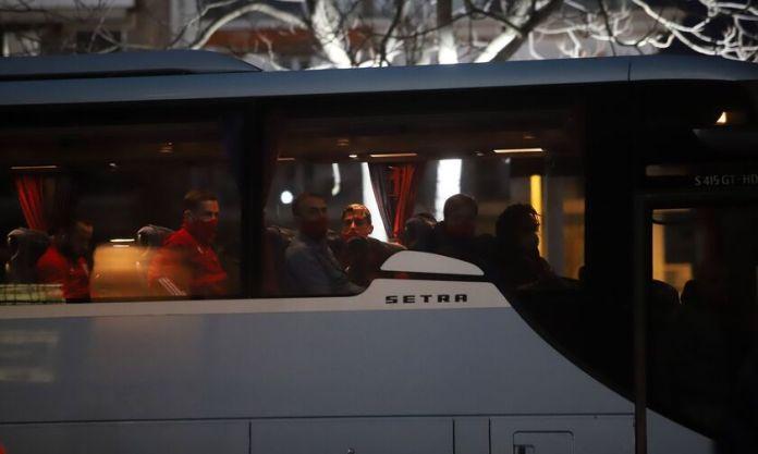 Ένταση στη Λάρισα κατά την άφιξη της αποστολής του Ολυμπιακού