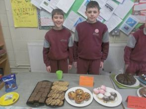 Bake Sale in 4th Class 2018 - 08