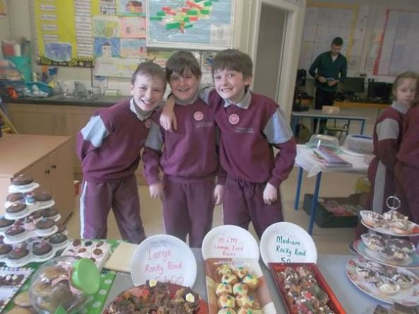 Bake Sale in 4th Class 2018 - 20