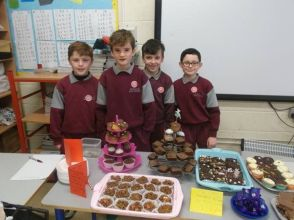 Bake Sale in 4th Class 2018 - 24