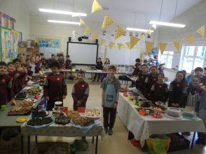 Bake Sale in 4th Class 2018 - 27