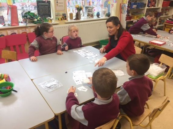 Team Teaching Junior Infants 2018 - 03