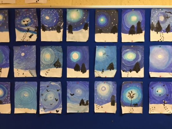 Christmas Art Displays 2018 - 01