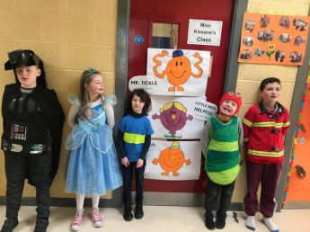 Literacy week in Fossa School 2019 - 01