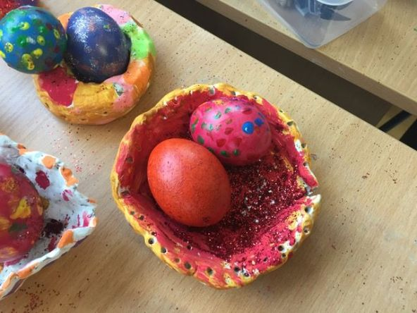 Easter Egg nests JI - 15