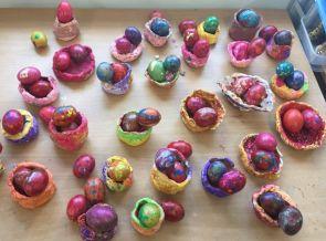 Easter Egg nests JI - 16
