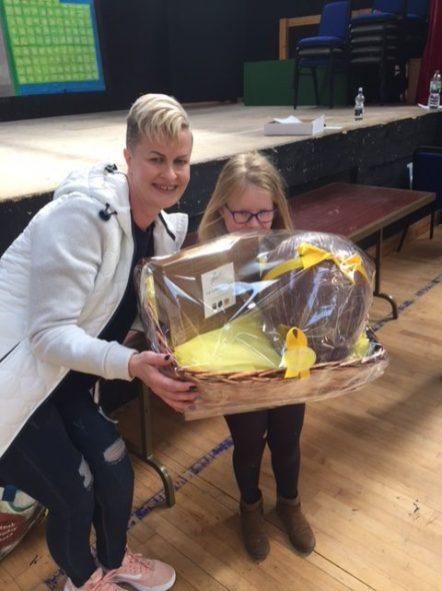 Easter egg winner
