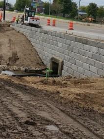 Bell School Road Retaining Wall