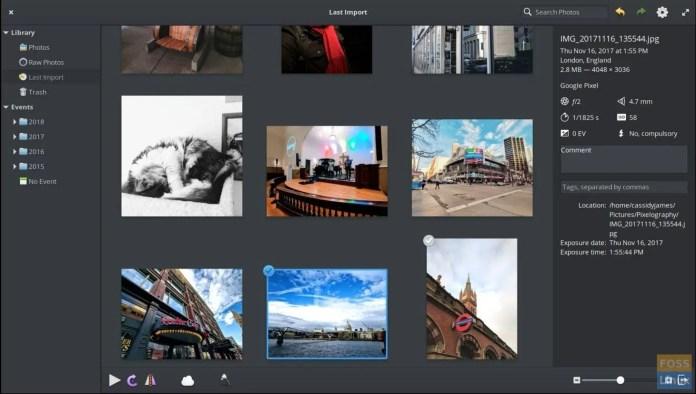 Aplikasi Foto di OS dasar 5.0 Juno