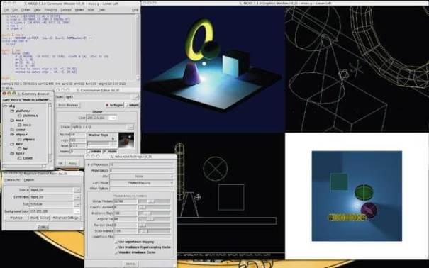 BRL-CAD - Sistema de Modelagem Sólida