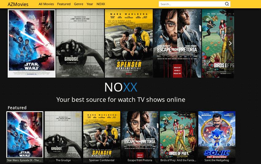 AZMovies - Movie & TV Show Streaming Site