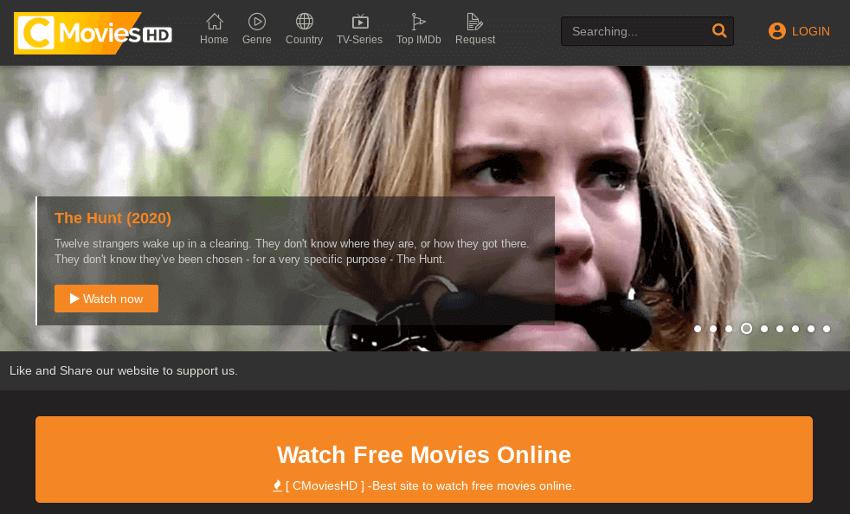 CMovies - Movie & TV Show Streaming Site