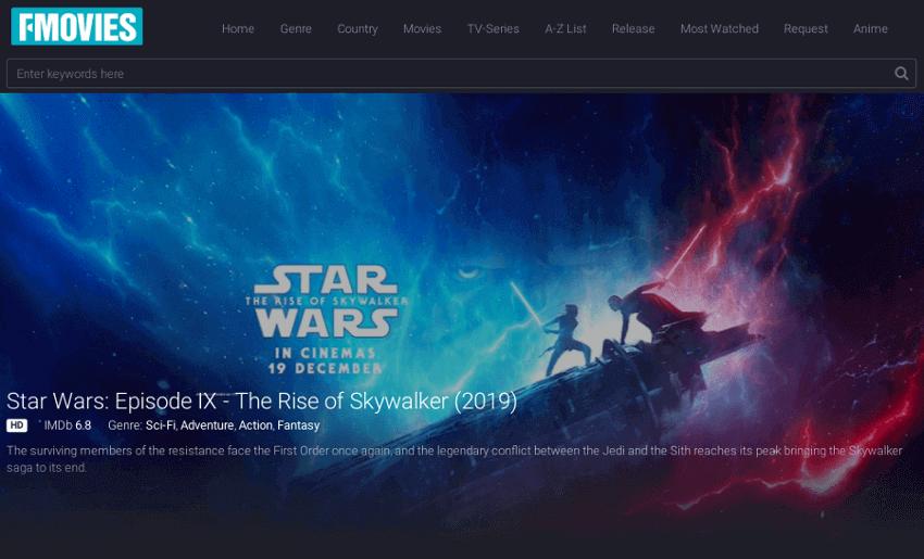 Fmovies - Movie & TV Show Streaming Site