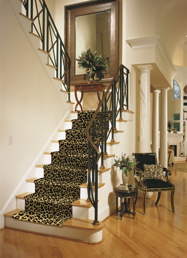 Carpeting Products Offered By Foster Flooring For High Quality | Roll Runners For Stairs | Flooring | Carpet Stair Treads | Canyon Kazmir | Persian Garden | Area Rugs
