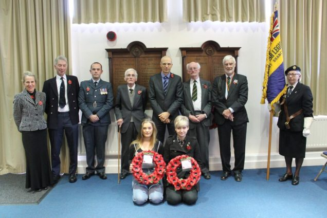Annual Remebrance Service at the Gryphon School