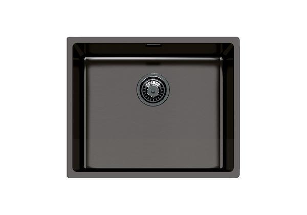 black stainless steel sink kitchen