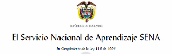 Certificado servicio Nacional de Aprendizaje Sena