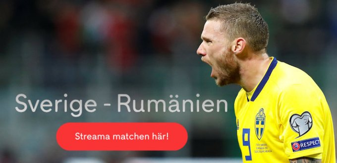 Sverige Rumänien stream gratis? Se vart man kan streama Sverige Rumänien!
