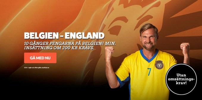 Belgien England live stream -Streama England Belgien bronsmatch, VM 2018 stream gratis online!