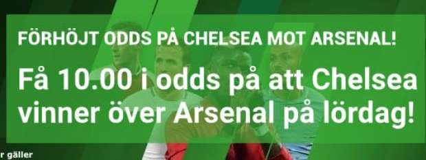 Chelsea Arsenal live stream gratis? Streama Chelsea Arsenal live online på nätet!