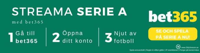 Inter Milan live stream free - se Inter Milan gratis hos bet365TV!