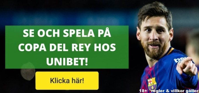 Copa del Rey final 2019 stream gratis? Streama Spanska Cupen live stream!