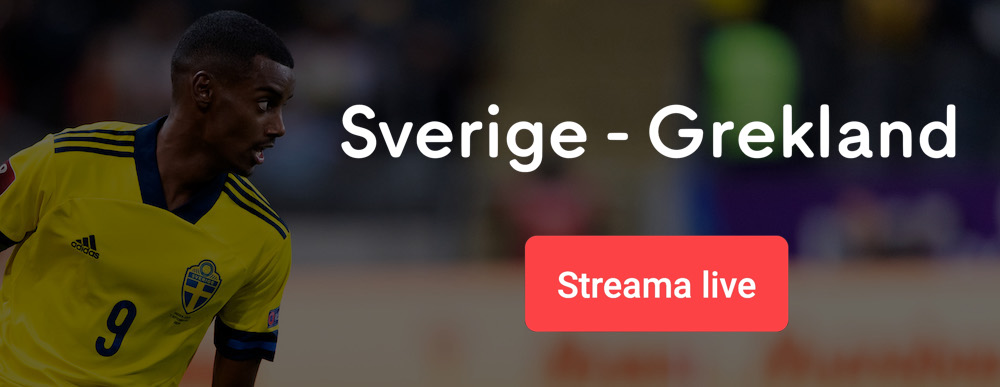 Sverige Grekland live stream gratis