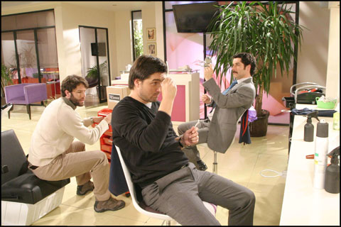 Teleserie TVN Jorge Zabaleta María Elena Swett Coca Guazzini Cristian Arriagada Paola Volpato