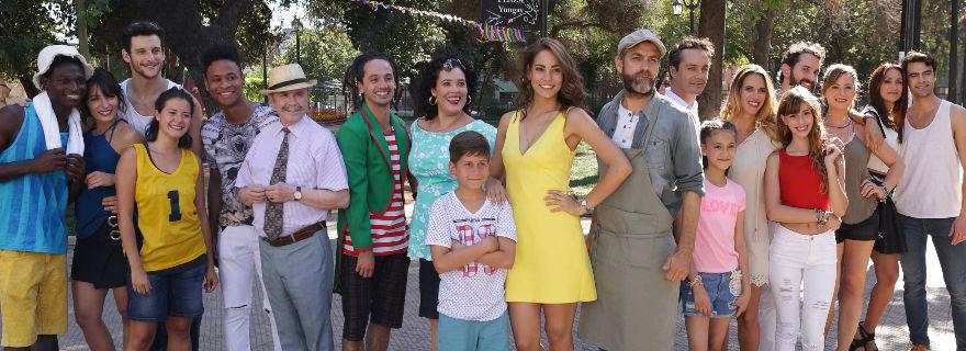 """Estas son las primeras escenas de la nueva vespertina de TVN, """"La Colombiana"""""""