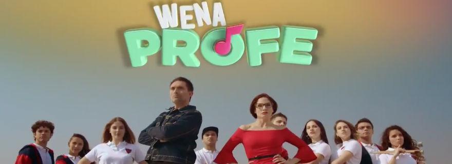 """TVN lanza el primer spot de su nueva teleserie vespertina """"Wena Profe"""""""