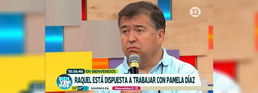 """El incómodo momento que vivió el """"Bienvenidos"""" por declaraciones de Mauricio Correa sobre Pamela Díaz"""