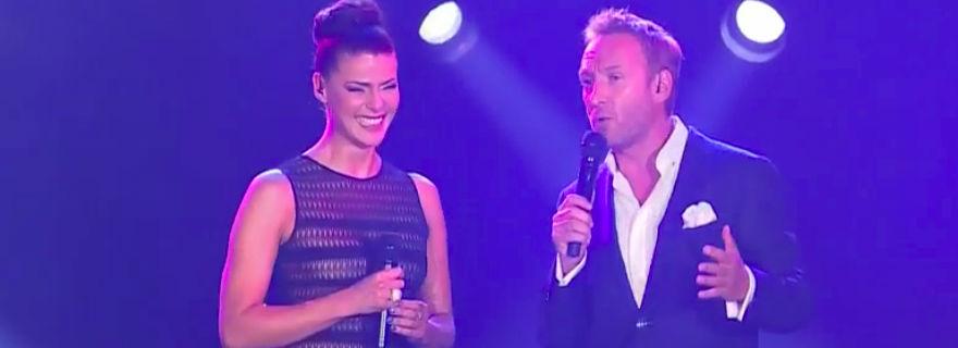 """Tonka Tomicic se llevó todos los elogios por el vestido que usó en el """"Festival de Las Condes"""""""