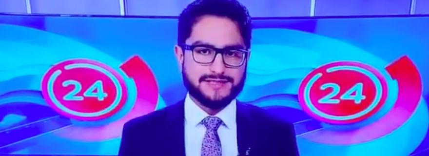 ¡En vivo y en directo!: El chascarro nocturno del canal 24 horas que no pasó desapercibido