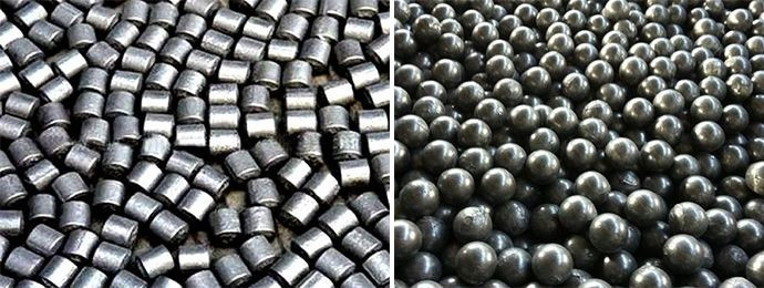 Grinding Cylpebs and Steel Balls