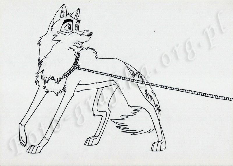 balto 2 coloring pages coloring pages