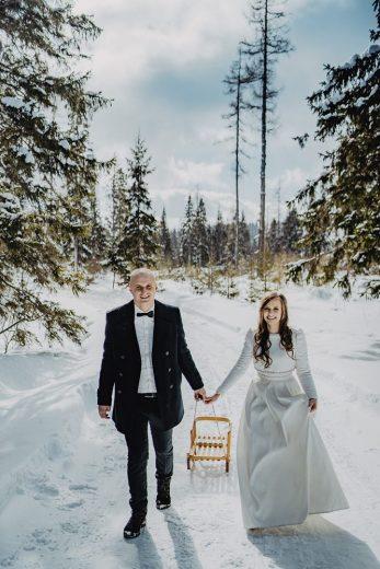 Tatry-Słowacja-Zima-Sesja-Ślubna-05