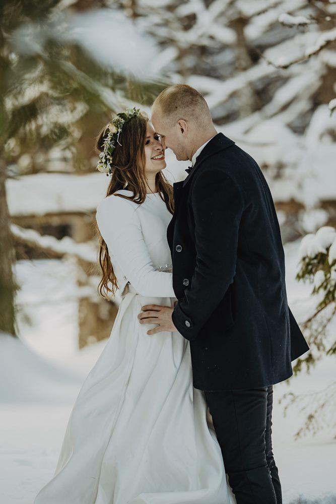 Tatry-Słowacja-Zima-Sesja-Ślubna-26
