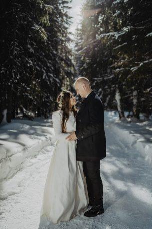 Tatry-Słowacja-Zima-Sesja-Ślubna-31