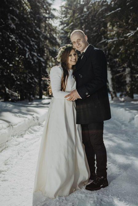 Tatry-Słowacja-Zima-Sesja-Ślubna-32