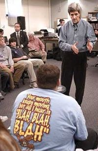 Dan Habib, Concord Monitor: John Kerry 2003