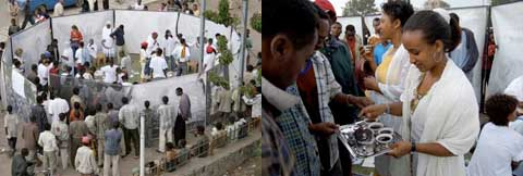 Images of Abul Thona Baraka traveling installation
