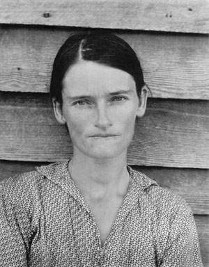Walker Evans, Sharecropper wife (Annie Mae Gudger) Let Us Now Praise Famous Men