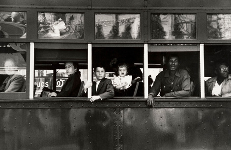 Trolley- New Orleans 1955 © Robert Frank