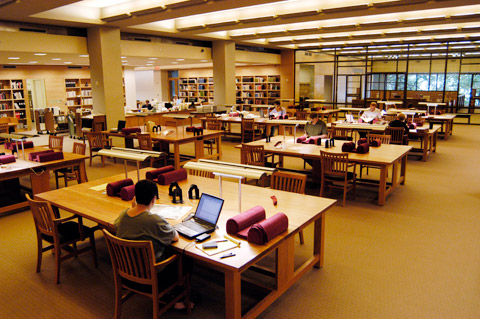 Hazel Ransom reading Room
