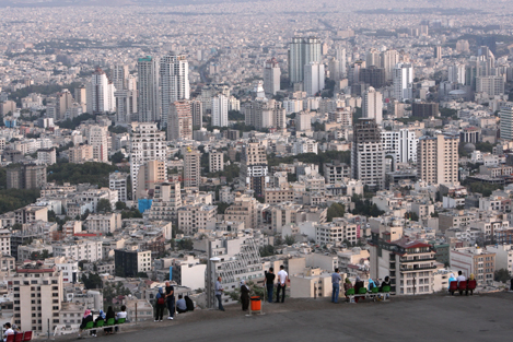 View-of-Tehran