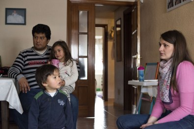 Emilio has been unemployed for two years, he and his wife Ludmyla are struggling to survive on just her wage alone. They plan to move abroad like many people in Spain in the hope of finding work.