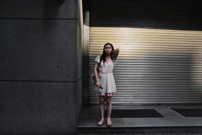 Hong kong, woman.