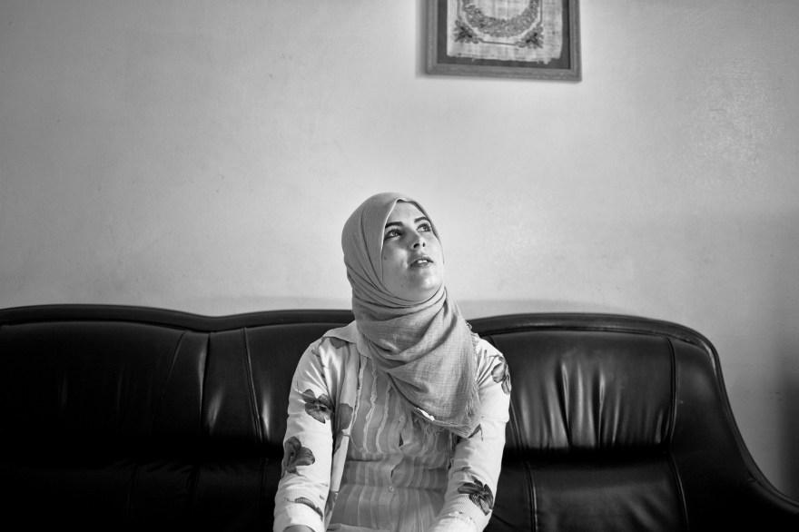Aicha, student, hopes for job after graduation