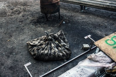 In February the demonstrations in Maidan were dispersed by snipers shooting at the people in the square. Later, in June, war came to the east of Ukraine.